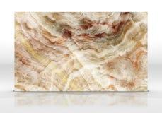 Rendição de mármore da textura 3D da telha do ônix fotos de stock royalty free