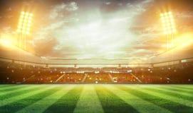 rendição do estádio 3d Foto de Stock Royalty Free