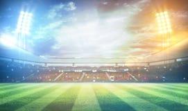 rendição do estádio 3d Imagem de Stock Royalty Free