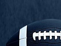 Rendição do futebol americano 3D, fotografia de stock