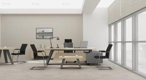 Rendição do mobiliário de escritório 3D do VIP Imagens de Stock
