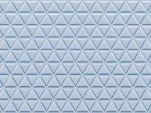 Rendição do teste padrão 3D do triângulo Fotos de Stock Royalty Free