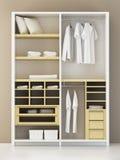 Rendição moderna do armário 3d Imagem de Stock Royalty Free
