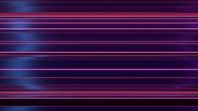 Rendição plástica brilhante reflexiva abstrata da forma 3d Imagens de Stock