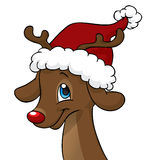 Rendier Rudolph Vector Illustratie