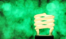 Rendimento energetico verde Fotografie Stock