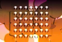 Rendu 3d abstrait Photos libres de droits