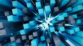 Rendu abstrait du fond 3D Images libres de droits