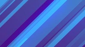 Rendu 3d abstrait des formes géométriques colorées Animation générée par ordinateur de boucle Configuration géométrique 4k UHD illustration de vecteur
