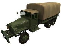 rendu 3d d'un camion d'Américain de la guerre mondiale 2 Photographie stock libre de droits