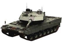 rendu 3d d'un réservoir allemand du léopard 2 Image stock