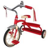 rendu 3d d'un rétro tricycle Photo libre de droits