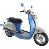rendu 3d d'un scooter Images stock