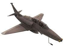 rendu 3d d'un A-4 Skyhawk Photo stock