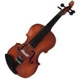 rendu 3d d'un violon Photos stock