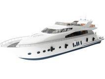 rendu 3d d'un yacht Image libre de droits