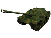 rendu 3d d'une guerre mondiale Allemand Jagdpanther de 2 ères Images libres de droits