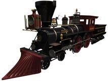 rendu 3d d'une locomotive de vintage Photo stock
