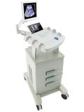 rendu 3d d'une machine d'ultrason Photographie stock libre de droits