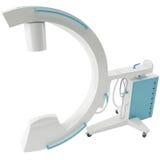 rendu 3d d'une machine de rayon X Photos stock