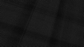rendu 3d de modèle numérique abstrait de fractale avec la couleur gentille Image libre de droits