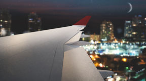 rendu 3D des avions Photo stock