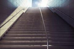 rendu 3D des escaliers de ville Images stock