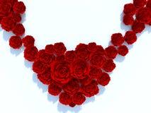 rendu 3D des fleurs roses illustration libre de droits