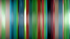 rendu 3D des panneaux en verre minces abstraits dans l'espace Les panneaux éclat et se reflètent Photos libres de droits