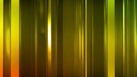 rendu 3D des panneaux en verre minces abstraits dans l'espace Les panneaux éclat et se reflètent Photographie stock