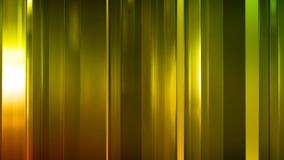 rendu 3D des panneaux en verre minces abstraits dans l'espace Les panneaux éclat et se reflètent Photos stock