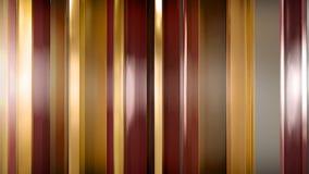 rendu 3D des panneaux en verre minces abstraits dans l'espace Les panneaux éclat et se reflètent Photographie stock libre de droits