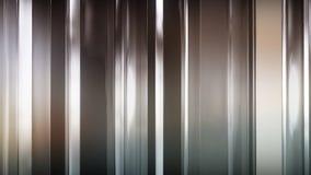 rendu 3D des panneaux en verre minces abstraits dans l'espace Les panneaux éclat et se reflètent Image stock