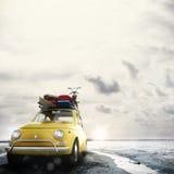 rendu 3D des vacances sur la route Photo libre de droits