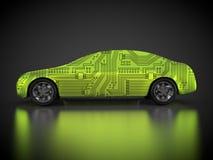rendu 3D : voiture et carrosserie abstraites Photo libre de droits
