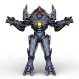 rendu de 3D CG. de humanoïde illustration de vecteur