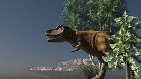 Rendu de Dinosuar 3D illustration libre de droits