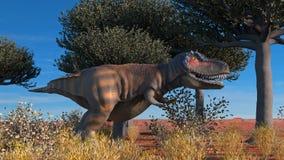 Rendu de Dinosuar 3D illustration de vecteur