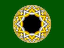 Rendu de fractale Image stock