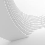 rendu de l'architecture 3d Construction de bâtiments futuriste Photos libres de droits