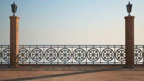 Rendu de l'imagination 3D de balcon Photographie stock libre de droits