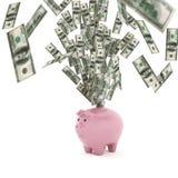 Rendu du concept 3D de richesse économique Image libre de droits