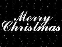 Rendu du Joyeux Noël 3d Image stock
