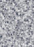 Rendu géométrique abstrait du modèle 3d de triangle Photos libres de droits