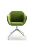 Rendu moderne du fauteuil 3d illustration libre de droits