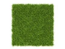 Rendu qu'on peut répéter sans couture du modèle 3d d'une correction d'herbe pour l'AR Images stock