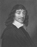 Rene Descartes stockfotografie
