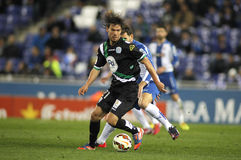 Rene Krhin of Cordoba CF Royalty Free Stock Photo