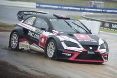 Rene Muennich Barcelona FIA świat Rallycross Zdjęcia Stock
