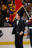 Rene Rancourt Boston Garden legend Royalty Free Stock Photography